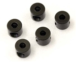 KYO97049GM Kyosho Linkage Stoppers for 2mm shaft Gun Metal - Package of 5