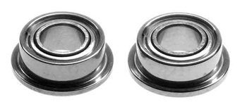 KYOBRG007F Kyosho Bearing 3 x 6 x 2.5 Flanged Metal Shield Package of 2
