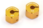 KYOEZW016-25 Kyosho EZ Series Wide Aluminum wheel hubs - Package of 2