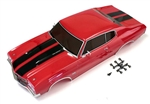 KYOFAB405 Completed Body Set (Chevelle Cranberry Red)