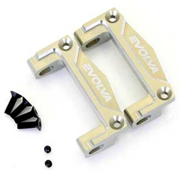 KYOFMW647 Kyosho Evolva M3 EVO Alloy Front Upper Suspension Mount