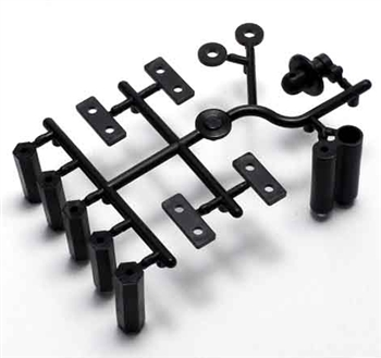 KYOIF278 Kyosho Inferno MP9 Readyset Body Mount Plastic Parts Set
