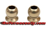 KYOIF462H Kyosho Inferno MP9 5.8mm Flanged Hard Anodized 7075 Aluminum Balls - Package of 2