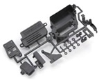 KYOIF504 Kyosho Inferno MP9e and VE Radio Box and Servo Mount Set