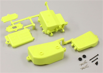 KYOIFF001KY Inferno MP9 Yellow Battery & Receiver Box Set