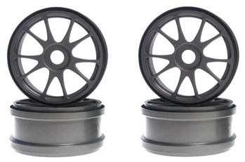 KYOIFH002GM Kyosho 10 Spoke Wheels - Gun Metal