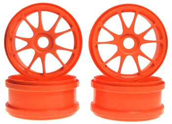 KYOIFH002KO Kyosho 10 Spoke Wheels - Orange