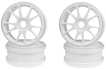 KYOIFH002W Kyosho 10 Spoke Dish Wheels - White
