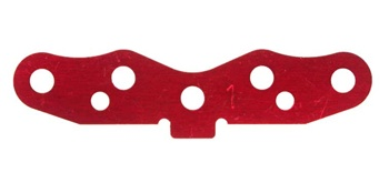 KYOIFW130 Kyosho Inferno SP Red Rear Suspension Plate 1 Deg.