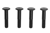 KYOIFW324-01 Kyosho Inferno Disk Brake Bolts for Bonded Pads - Package of 4
