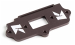 KYOIFW428 Kyosho MP9 TKI3 Gunmetal Aluminum Switch Plate