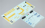 KYOIGB054-1 Kyosho Inferno GT Ferrari F430GT Decal Set