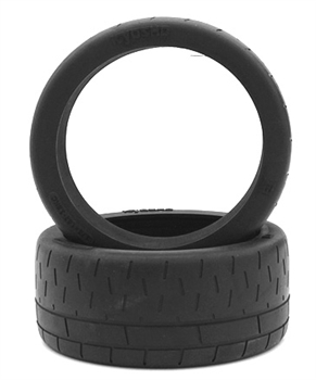 KYOIGT004 Kyosho Inferno GT Radial Tire and Inner Sponge - Package of 2