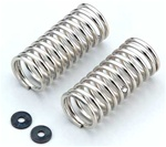 KYOIGW004-9022 Kyosho Inferno GT and GT2 Shock Spring 9-2.2 L=45mm Silver - Package of 2