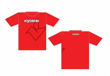 KYOKA10001SL Kyosho Big K Red Short Sleeve T-Shirt - Large