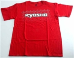 KYOKA10002SM Kyosho K Fade Short Sleeve T-Shirt Red Size M