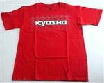 KYOKA10002SS Kyosho K Fade Short Sleeve T-Shirt Red Size S