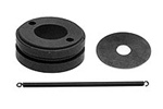 KYOKC45 Kyosho Carbon Clutch Shoes for 2 Shoe Clutch Assembly