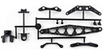 KYOLA212HC Kyosho Lazer ZX-5 Carbon Composite Center-Mount and Braces Set