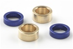KYOLA253 Kyosho Rear Axe Aluminum Spacers for -4.7 Offset (ZX6, ZX-5 SP, RB5)