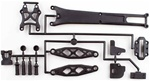 KYOLA264B Kyosho Lazer ZX-5 FS and FS2 Upper Carbon Composite Plate Set