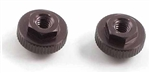 KYOLAW41-01GM Kyosho Gunmetal Aluminum Battery Post Adjust Nuts - Package of 2
