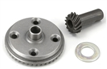 KYOMA050B Kyosho Inferno Steel Ring and Pinion Gear Set