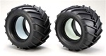 KYOMA051 Kyosho Tire with Inner Sponge for Mad Force Kruiser - Package of 2