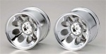 KYOMA052 Kyosho Wheel for Mad Force Kruiser Chrome - Package of 2