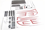 KYOMAD201 Kyosho Decal Sheet for Mad Force Kruiser VE