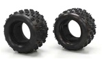 KYOMAT001 Kyosho Twin Rib Tire Set Madforce - Package of 2