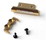 KYOMBW029G Kyosho Mini-Z Buggy Gold Aluminum Front and Rear Bumper Set