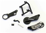 KYOMC003Y Kyosho Moto Racer Rear Arm Parts Set