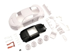 KYOMZN195 Audi R8LMS Night-R White Body Set w/ Wheels