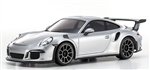 KYOMZP150S-B Porsche 911 GT3 Silver Metallic Body Set for MR-03N