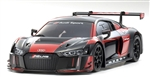KYOMZP234BKR-B Audi R8 LMS 2016 Black/Red Body Set, for MR-03W-MM