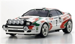 KYOMZP446JK Mini Z Toyota Celica Turbo WRC RTR Auto Scale Body