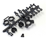 KYOOT210BK Kyosho Optima Shock Plastic Parts Black