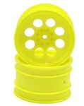 KYOOTH245Y Optima/ Javelin  8 Hole Wheel 50mm Yellow - Package of 2