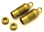 KYOOTW128-01 Optima/ Javelin Gold Front Shock Case Set - Package of 2