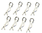 KYOR246-9001 Kyosho 6mm Body Pin Easy Bent up Type - Package of 8