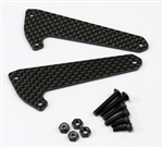 KYOSCW003 Kyosho Scorpion Carbon Front Shock Stay for HG Shocks