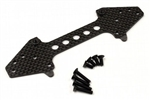KYOSCW005 Kyosho Scorpion Carbon Rear Sus Plate Set