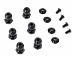 KYOSX019 Kyosho Scorpion XXL Front or Rear Upper Outer Arm Pillow Balls - Package of 6