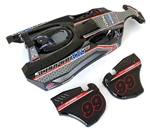 KYOSXB002 Kyosho Scorpion XXL Completed Body Set T2 Black