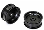 KYOSXH001BK Kyosho Scorpion XXL Front Wheel Black - Package of 2