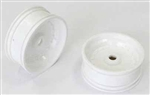 KYOSXH001W Kyosho Scorpion XXL Front Wheel White - Package of 2