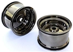 KYOSXH002BC Kyosho Scorpion XXL Rear Wheel Black Chrome - Package of 2