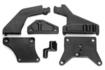 KYOTR105 Kyosho Upper Plate set Chassis Braces for the DRX, DRT, DBX and DST