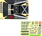 KYOTRD111 Kyosho DRT Decal Set